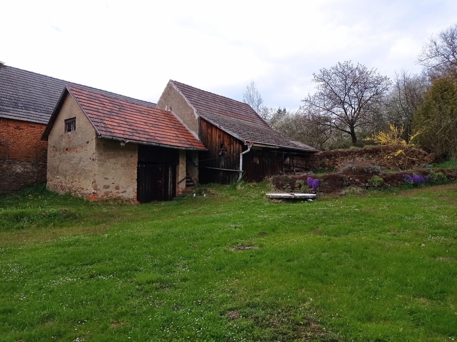 Prodej, zemědělské usedlosti, 3790m2, Kasejovice - Kladrubce, Plzeň -jih