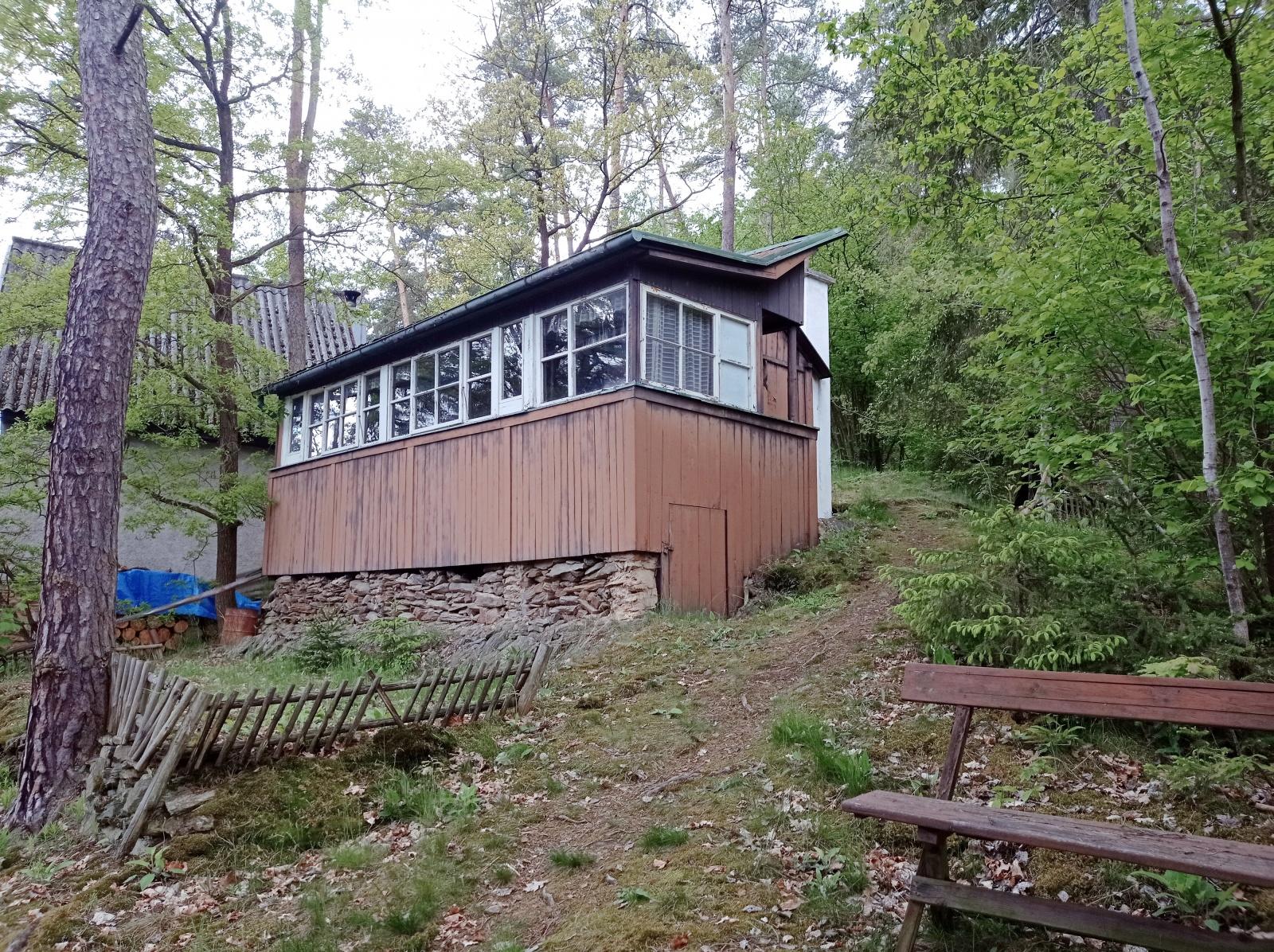 Prodej, rekreační chata, Erpužice - Malovice, okres Tachov