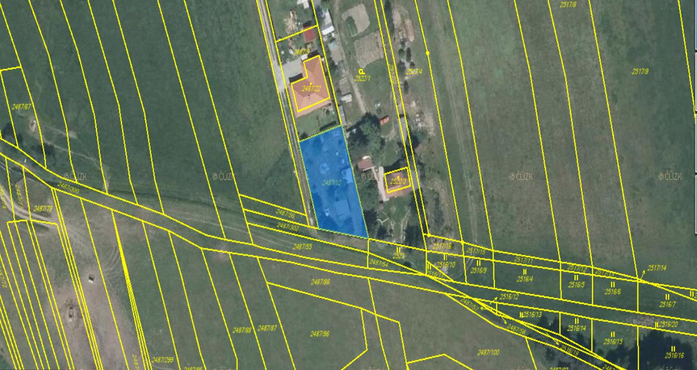 Prodej, stavební pozemek, 743m2, Třemošná