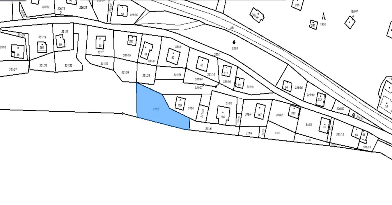 Prodej, pozemky k rekreaci, 709m2, Butov u Stříbra, okres Tachov